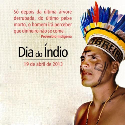 Resultado de imagem para homenagem ao dia do indio