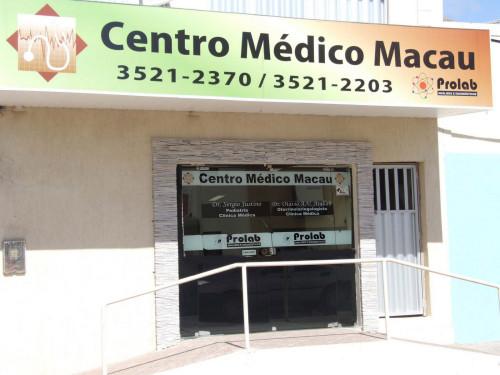 Cento médico Macau e Prolab mais espaço e serviços para a população