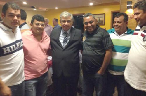 Andrew,Kerginaldo, Garibaldi, Dantas, Ely e Manoel do Gago