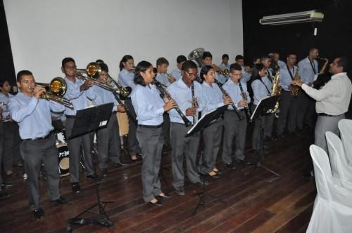 Filarmônica Monsenhor Honório abrilhantou a abertura da semana do transito