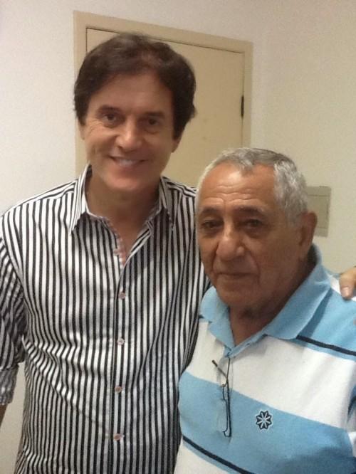 Em Macau Robinson será recebido pelo ex-prefeito Afonso Lemos