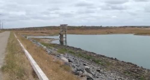 Nível de água esta baixo na barragem Armando Ribeiro Gonçalves