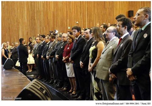 Eleitos no pleito 2014 no RN recebem diplomação nesta quinta-feira (Foto Canindé Soares)