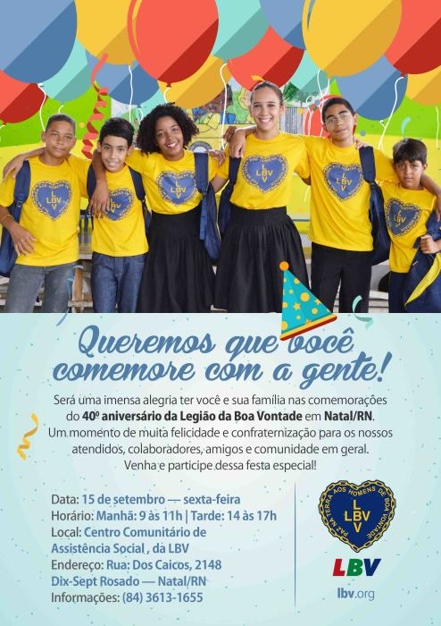 convite de aniversario Natal 1 FO